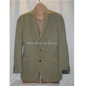 Lands End MENS Traditional Fit Herringbone Blazer